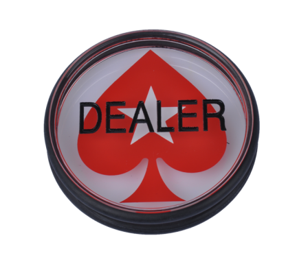 Dealer Button Met Pokerstars Logo