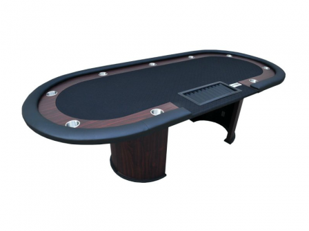 Cashgame PokerTafel Combo Black Met Chiptray
