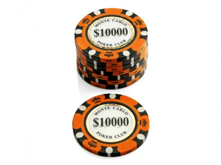 Monte Carlo Poker Club Pokerchip $ 10000