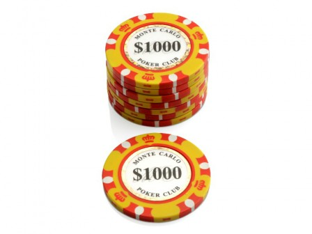 Monte Carlo Poker Club Pokerchip $ 1000