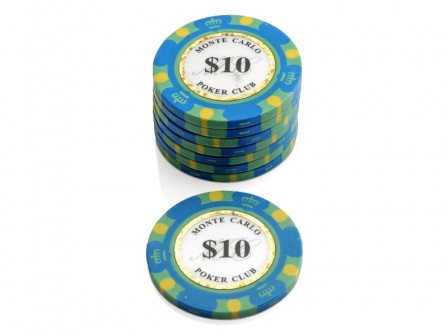 Monte Carlo Poker Club Pokerchip $ 10