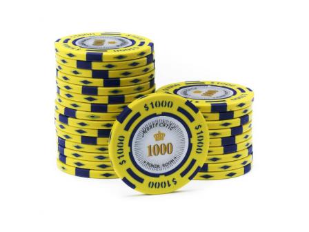 Monte Carlo Poker Room Pokerchip 1000