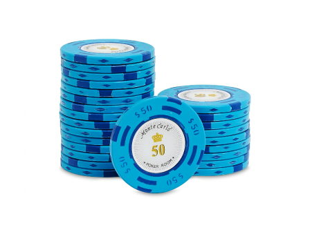 Monte Carlo Poker Room Pokerchip 50