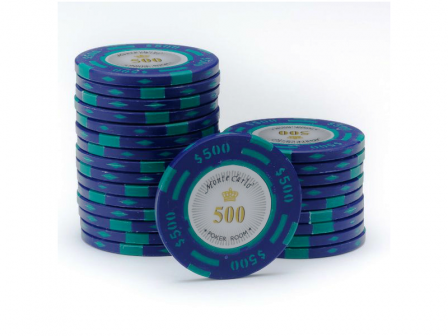 Monte Carlo Poker Room Pokerchip 500