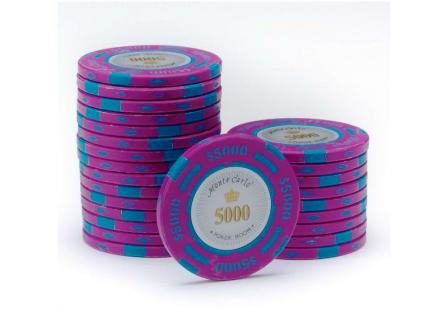 Monte Carlo Poker Room Pokerchip 5000