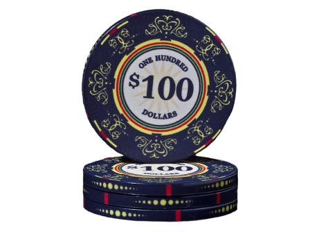 Keramische Venerati Poker Chip $ 100