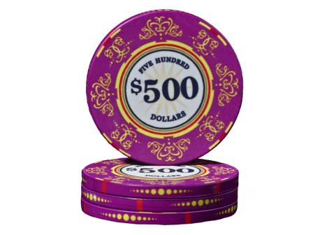 Keramische Venerati Poker Chip $ 500