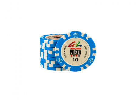 World Games Of Poker Chip 10