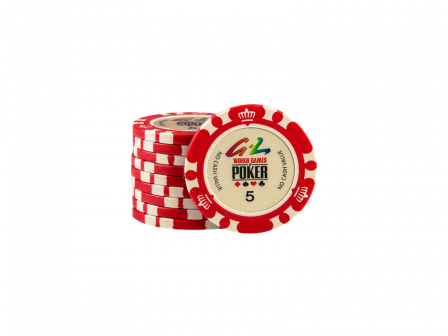 World Games Of Poker Chip 5