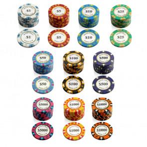 Monte Carlo Poker Club Pokerchip $ 1000