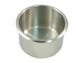 Extra Grote RVS Cupholder 89 mm Zilver