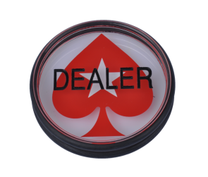 Dealer Button Met Pokerstars Logo