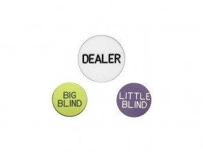 Dealer Button Set van 3