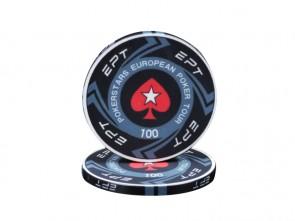 Keramische European Poker Toer EPT Pokerset 1000