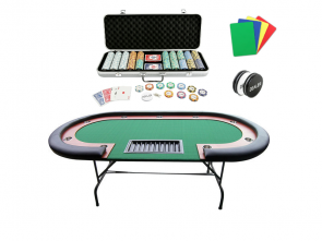 Pokertafel Met Pokerset Van 500 Pokerchips1