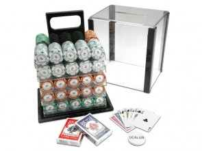 Pokerset Monte Carlo Poker Club 1000 & Chiptray