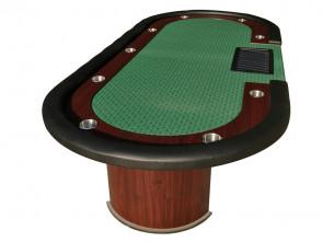 Cashgame PokerTafel Combo Green Met Chiptray