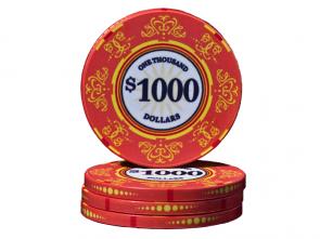 Keramische Venerati Poker Chip $ 1000