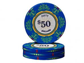Keramische Venerati Poker Chip $ 50