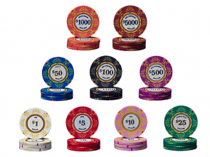 Keramische Venerati Poker Chips Pokerset 1000