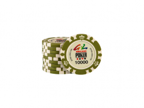World Games Of Poker Chip 10000