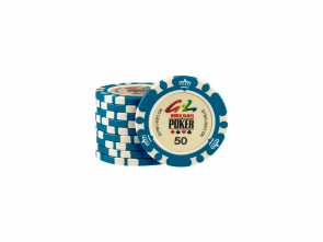 World Games Of Poker Chip 50