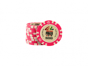 World Games Of Poker Chip 5000